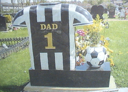 dads grave